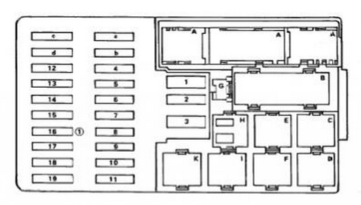 Marcedes s klas w123 fuse box diagram mercedes e class w123 300d (1987) fuse box diagram auto genius 1987 mercedes 300d wiring diagram at aneh.co