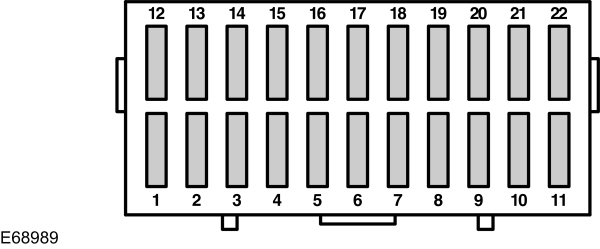 ford ka  1996 - 2007  - fuse box diagram  eu version