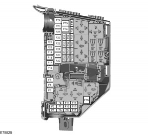 Ford S-MAX mk1 (2006) - fuse box - engine compartment