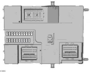 Ford Transit Custom (2015) - body control module