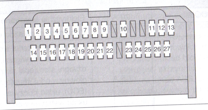 Yaris Mk1 Fuse Box Diagram : Toyota auto fuse box diagram camry wiring