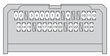 Toyota corolla mk11 fuse box instrument panel type a toyota corolla mk11 (11th generation; from 2012) fuse box 2014 corolla fuse box diagram at mifinder.co