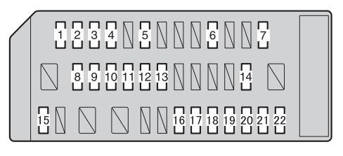 toyota gt86 from 2012 fuse box diagram auto genius rh autogenius info 86 toyota pickup fuse box diagram 2005 Toyota Matrix Fuse Box Diagram