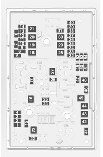 vauxhall astra 6th generation astra j 2013 fuse box diagram rh autogenius info 2000 VW Beetle Fuse Box Fuse Box Diagram