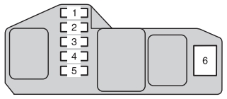 Toyota hilux mk7 fuse box instrument panel passeneger side toyota hilux (an10, an20, an30; 2011 2013) fuse box diagram toyota hilux fuse box diagram at edmiracle.co