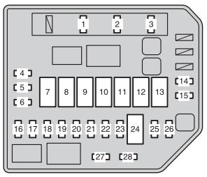 Toyota    Urban Cruiser  2008  2015      fuse       box       diagram     Auto Genius