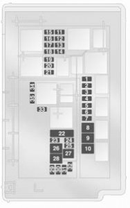 vauxhall corsa d 2009 to 2014 fuse box diagram auto genius