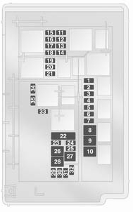 vauxhall corsa b fuse box diagram vauxhall corsa d (2009 to 2014) - fuse box diagram - auto ...