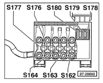 Volkswagen Golf Mk4 Fuse Box on 12 wire motor wiring diagram