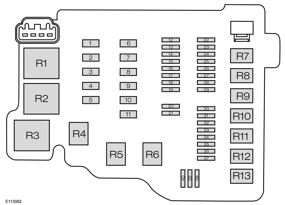 Renault Clio Mk2 Fuse Box Diagram