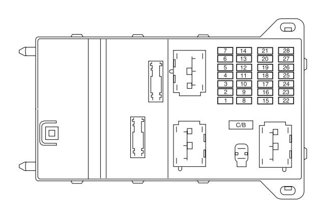 Lincoln Mkz  2005 - 2010  - Fuse Box Diagram