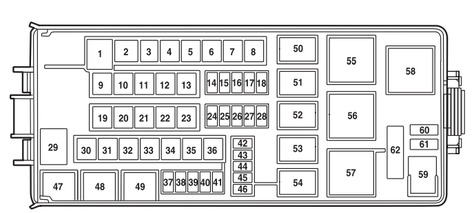2009 ford f150 interior fuse box diagram. Black Bedroom Furniture Sets. Home Design Ideas