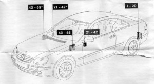December Page Auto Genius - Fuse box diagram w209
