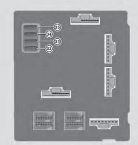 smart fortwo 2013 coupe and cabriolet fuse box diagram usa rh autogenius info 2005 Ford Mustang Fuse Box Diagram 2005 Ford Ranger Fuse Box Diagram