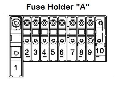 Volkswagen transporter t5 essentials fuse box holder a volkswagen transporter t5 essentials (from september 2009 2014 2010 Mazda 3 Fuse Diagram at webbmarketing.co