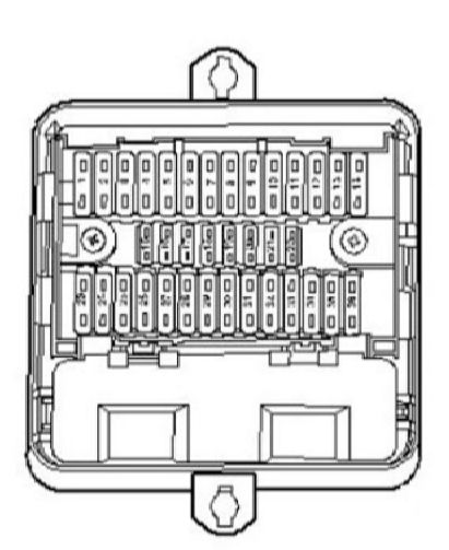 vw transporter fuse box diagram 2013