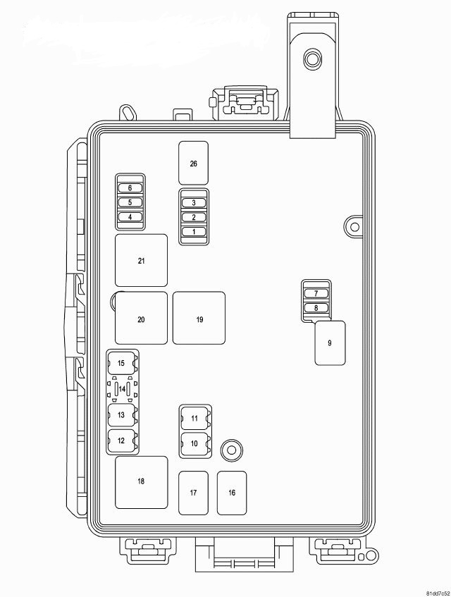 2010 dodge charger fuse box diagram image details