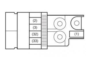 Maruti Suzuki Ritz - fuse box - engine compartment 1 (petrol)