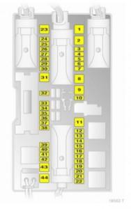 vaxuhall zafira b 2005 2015 fuse box diagram auto genius rh autogenius info zafira b 2007 fuse box diagram zafira b 2008 fuse box diagram