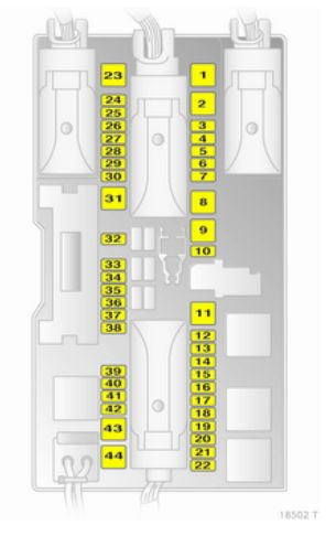 Opel Zafira Family bezpieczniki bagaznik wersja b vaxuhall zafira b (2005 2015) fuse box diagram auto genius vectra c fuse box diagram at bayanpartner.co
