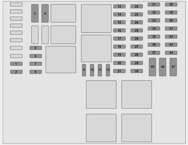 Vauxhall vivaro 2014 2016 fuse box diagram auto genius vauxhall vivaro 2014 2016 fuse box diagram cheapraybanclubmaster Choice Image