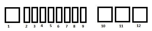 Citroen C1  2007  - Fuse Box Diagram