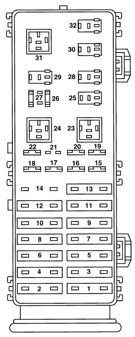 1997 mercury sable fuse box diagram   35 wiring diagram