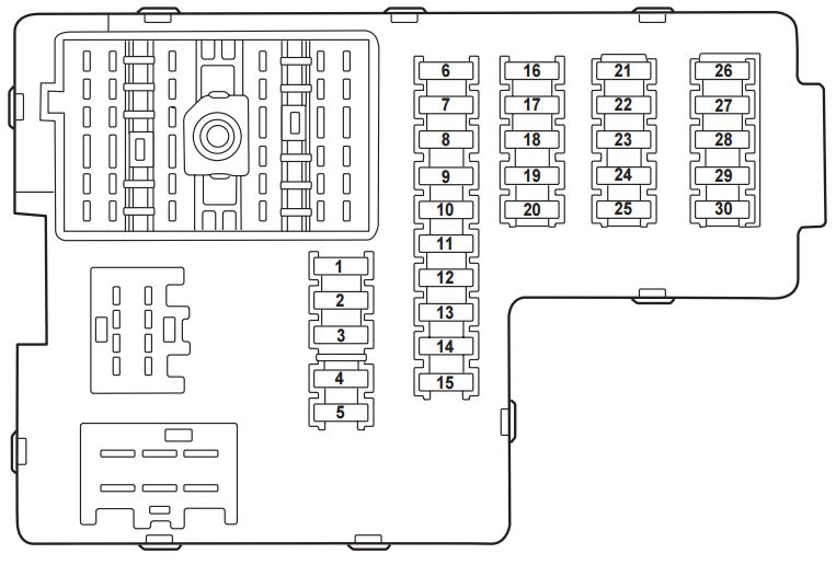 Mercury Mountaineer Second Generation Fuse Box Diagram on 2004 pt cruiser fuse box diagram
