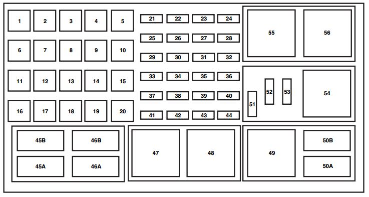 2006 mercury mountaineer wiring diagrams 2006 mercury mountaineer third generation 2005 2010 fuse box on 2006 mercury mountaineer wiring diagrams