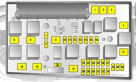 vauxhall astra 5th generation astra h 2004 2010 fuse box rh autogenius info opel corsa b fuse box diagram opel astra fuse box diagram