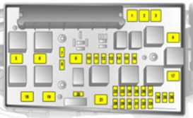 vauxhall astra 5th generation astra h 2004 2010 fuse box rh autogenius info Fuse Box Chart Fuse Box Diagram