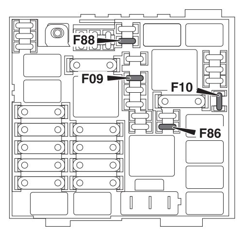alfa romeo 4c  2013 - 2016  - fuse box diagram