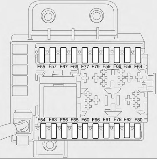 fiat stilo fuse box in boot fiat stilo fuse box faults fiat croma (2009 - 2011) - fuse box diagram - auto genius