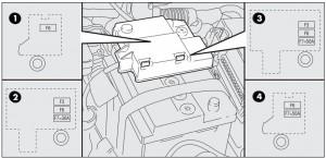Fiat Grande Punto - fuse box - battery