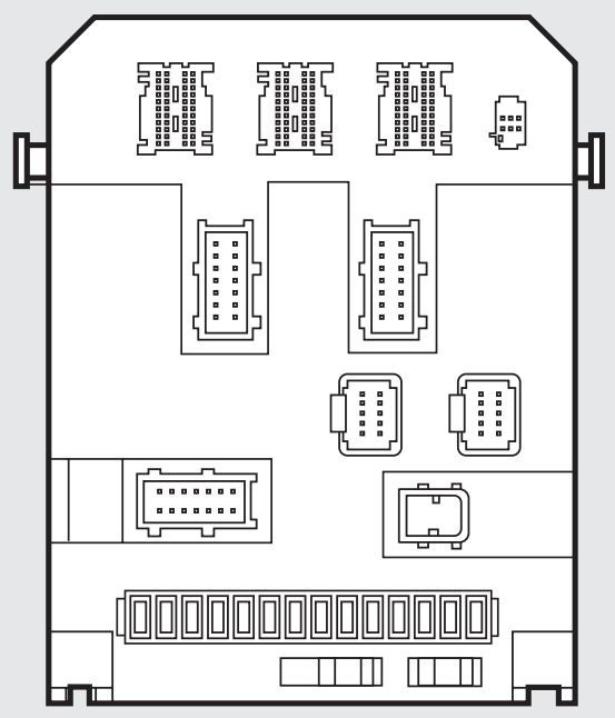 Fiat Scudo Mk2 2006 2016 Fuse Box Diagram on 2014 fiat ducato fuse diagram