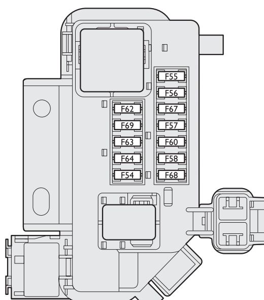 fiat stilo (2001 - 2008) - fuse box diagram - auto genius fiat stilo fuse box in boot