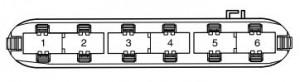 Volkswagen Passat B5 FL - fuse box - control module housing