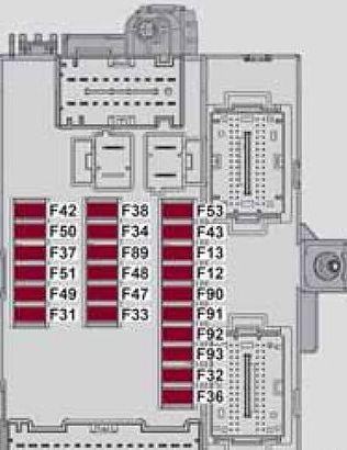 alfa romeo giulietta 2013 2018 fuse box diagram. Black Bedroom Furniture Sets. Home Design Ideas