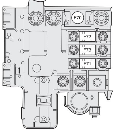 alfa romeo 147 fl 2005 2010 bezpieczniki schemat auto genius. Black Bedroom Furniture Sets. Home Design Ideas