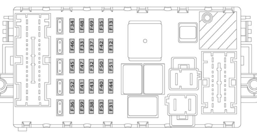 lancia delta mk3 (2008 - 2014) - fuse box diagram - auto genius mk3 fuse box diagram mk3 fuse box diagram