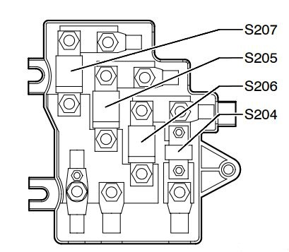 2002 Dodge Magnum Fuse Box Diagram