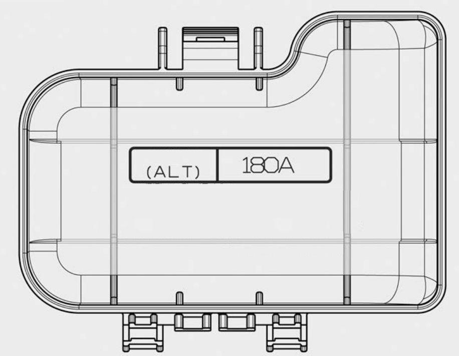 Kia Cadenza  2016  - Fuse Box Diagram