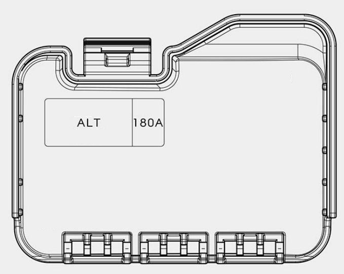 Kia Optima  2016 - 2018  - Fuse Box Diagram
