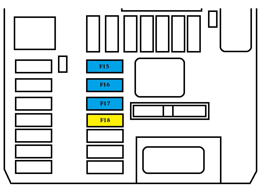 Peugeot 308 Mk2  2013 - 2015  - Fuse Box Diagram