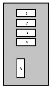 Peugeot 407  2005   fuse box    diagram     Auto Genius