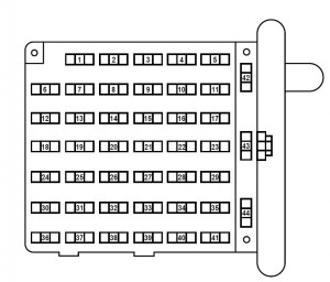 ford e-series e-150 e150 e 150 (2002 – 2003) – fuse box diagram