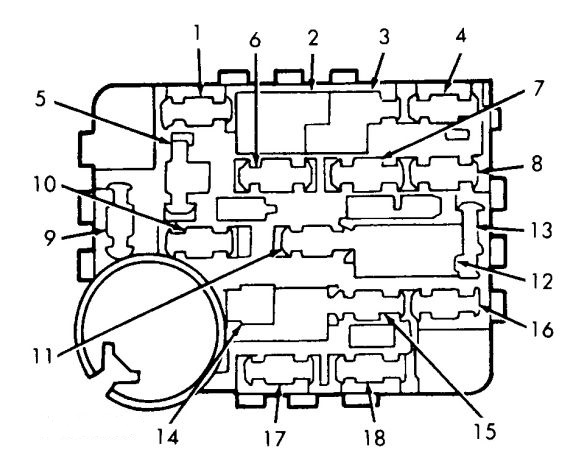 Mark 7 Fuse Diagram