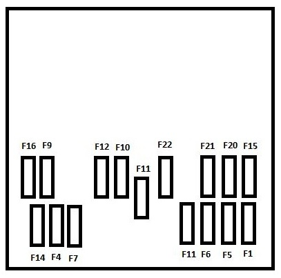 peugeot m fuse box diagram auto genius peugeot m59 2008 2010 fuse box diagram