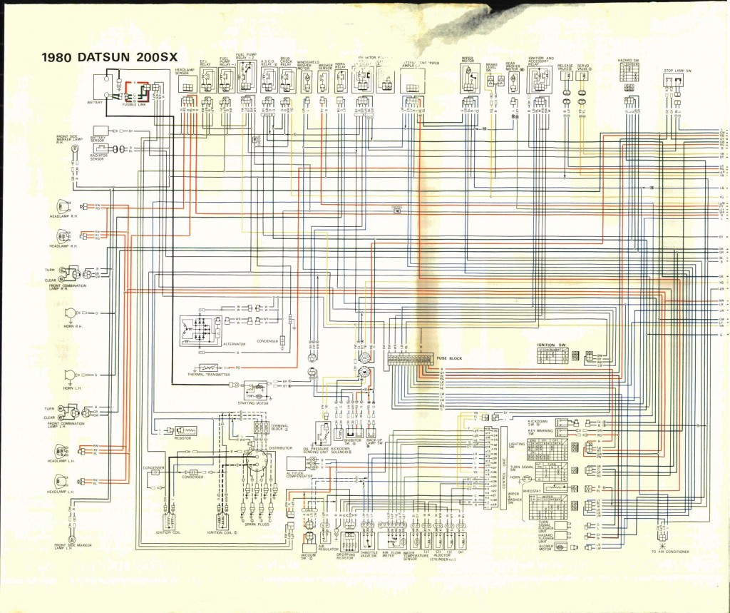 Nissan Datsun Sx Wire Diagram X on 1980 Acura Integra