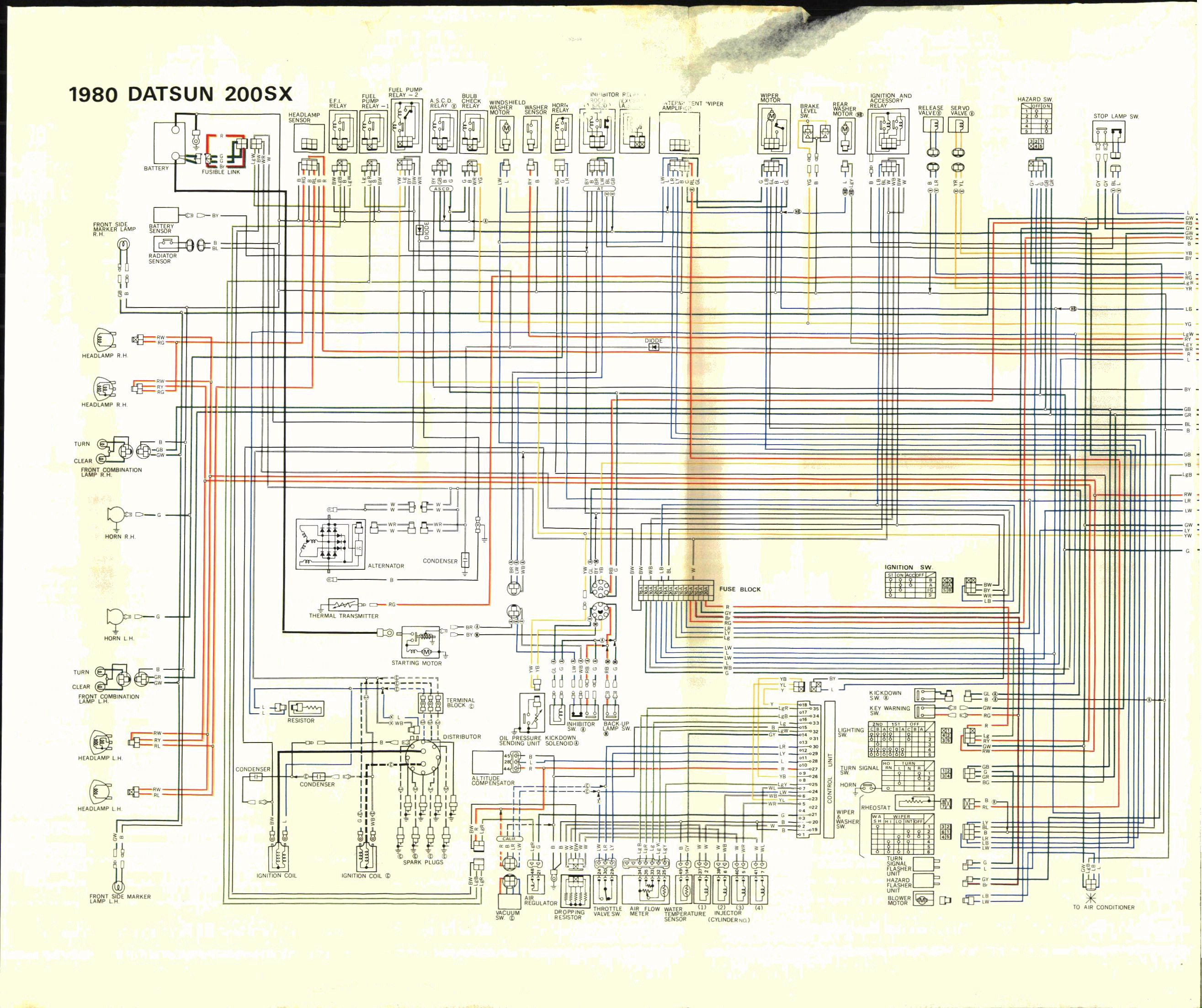 Nissan Largo Wiring Diagram : Datsun sx wire diagram auto genius